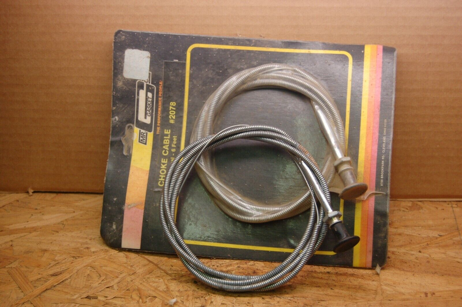 Mr Gasket 2078 Choke Cable Steel Universal 6 ft Length Each