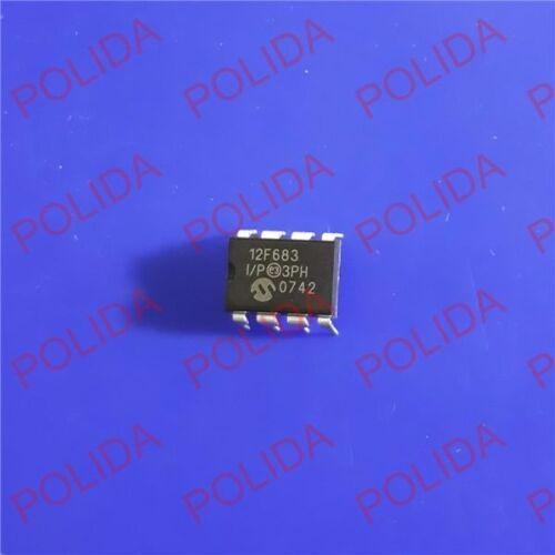 2PCS MCU IC MICROCHIP DIP-8 PIC12F683-I//P 12F683-I//P 12F683