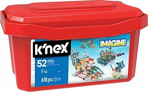 KNEX Imagine 52 Model Building Set for Ages 7, Engineering Education Toy, 618