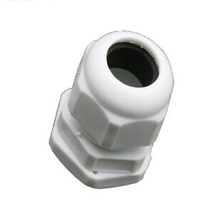 10pcs IP68 PG21 13-18mm Cable Waterproof Nylon Plastic Cable Gland Connector