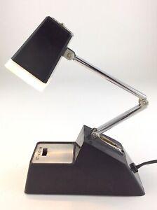 Well Lite Vintage Desk Table Lamp Folding Adjustable Hong Kong Plug In S529
