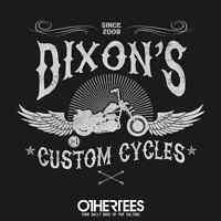 The Walking Dead Daryl Dixon Chopper Zombies Limited Edition Womens T-shirt S-xl