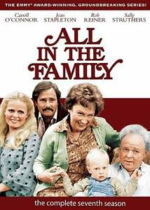 All in the Family: The Complete Seventh Season (DVD, 2010, 3-Disc Set) New/Seale