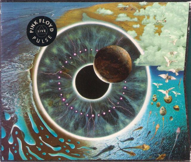 2-cd-box - Pink Floyd/pulse/Live 1995 (Working/Blinking LED