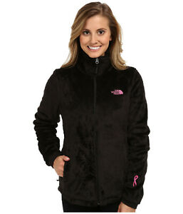 New-Womens-The-North-Face-Ladies-Osito-Fleece-Coat-Top-Jacket-Black