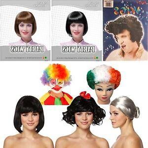 ADULT HAIR WIGS FANCY DRESS MENS IRISH AFRO CLOWN STAR WOMENS OLD ... 7a6dc83a70
