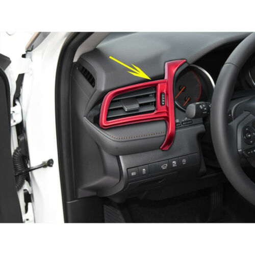 Red Dashboard Left Central Air Outlet Vent Panel Trim for Toyota Camry 2018-20