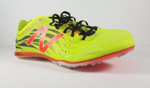 New Balance LimeRed MD800 Size 12 Mid Distance Cross Country Track Spikes