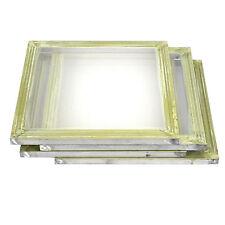 """4 Pack Aluminum Silk Screen Printing Press Screens 110 Frame Mesh 20"""" x 20"""""""