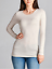 Basic-Long-Sleeve-Solid-Top-Womens-Plain-Cotton-T-Shirt-Stretch-Tight-Crew-Neck thumbnail 7