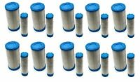 (10) Air / Pre Filters Cleaners Set Ferris / Gravely Zero Turn Ztr Lawn Mower