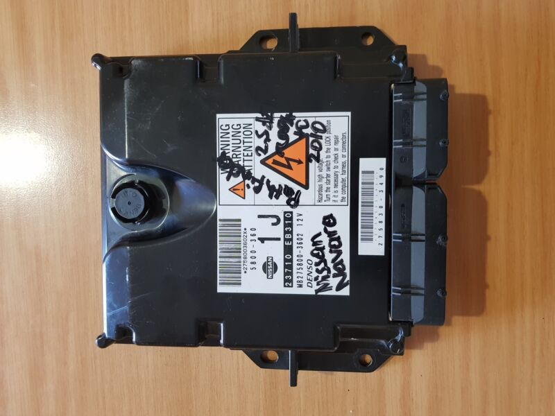 Nissan Navara D40 2.5 DCI 2005-2016 ECU with part#23710-EB310