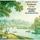 Samuel Sebastian Wesley - Samuel Wesley: Symphonies 3, 4, 5 & 6 (1991)