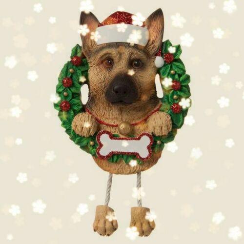 German Shepherd Christmas Decoration Bauble Ornament Gift//Present Dog