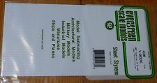 "Evergreen Styrene #4188 / 6 x 12"" Styrene Siding Sheet, V-Groove .040"" Thick --"