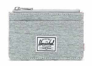 Herschel-Oscar-Rfid-Portafoglio-grigio-chiaro-Crosshatch