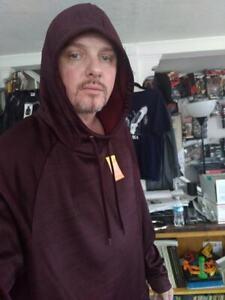 TEK GEAR Men/'s Big /& Tall Performance Fleece Space-Dye Hoodie NWT