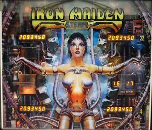 Details about Iron maiden stern Pinball chip rom set