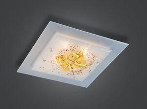 Plafoniere Da Arredo : Illuminazione da interno plafoniera di murano damasco oro nero
