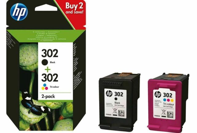 Hewlett Packard HP 302 Cyan/Magenta/Yellow/Black Tintenpatronen Multipack