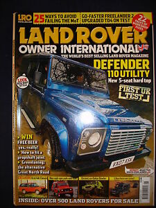 Land-Rover-Owner-LRO-May-2007-Bowler-fire-tender-Defender-110-utility