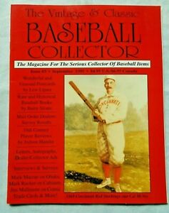 3-September-1995-Vintage-amp-Classic-Baseball-Collector-Magazine-VCBC
