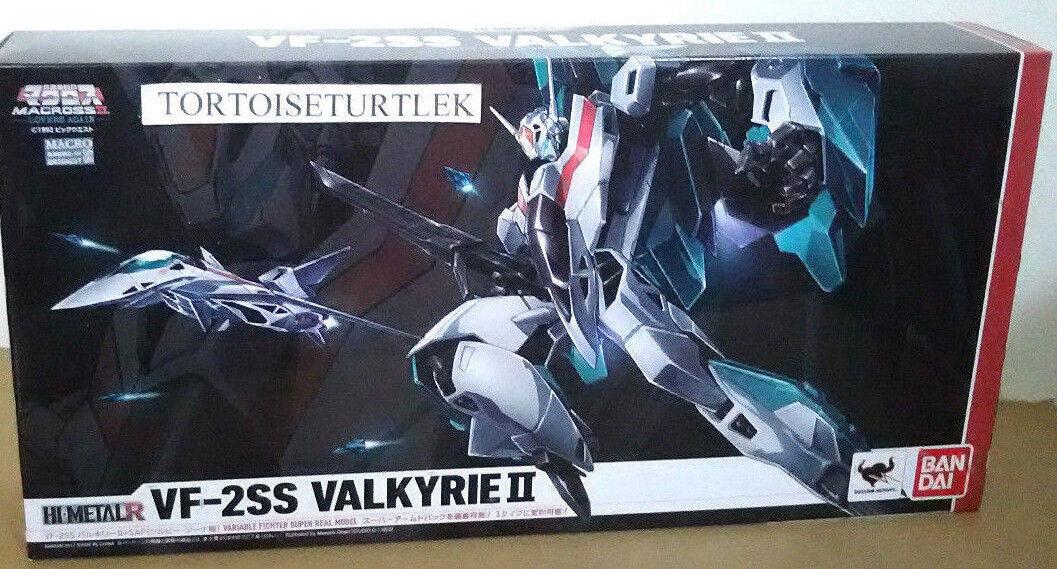 Bandai alta Metal R Macross VF-2SS Valkyrie II + SAP Silvie figura de acción personalizada