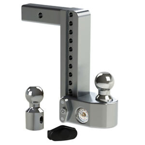 Weigh-Safe-Drop-Hitch-w-Tongue-Weight-Scale-10-Drop-Length-2-Shaft-Size-WS10-2