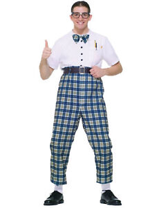 Image Is Loading Morris Costumes Men 039 S Retro 1950s Nerd