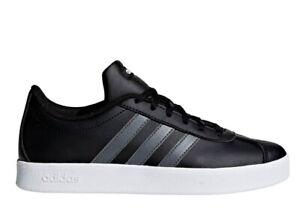 Adidas-VL-COURT-2-0-K-F36381-Nero-Scarpe-Donna-Bambini-Sneakers-Sportive