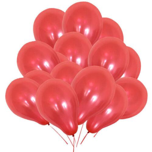 10X ballons pearl mettalic ballons decoration weeding party birthday ballon new