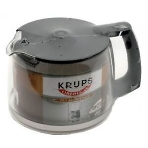 Krups Coffee Maker Replacement Jug : Krups F0344210F Coffee Maker Pro Aroma Plus Glass Carafe Genuine eBay