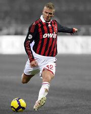 AC Milan DAVID BECKHAM Glossy 8x10 Photo Spotlight Poster Football Print Soccer