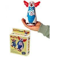 Original Bozo The Clown Bop Bag Inflatable Punching Toy 7 Small Desk Size, on Sale