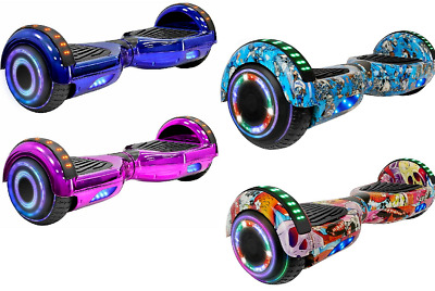 """6.5"""" Bluetooth LED Hoverboard Self Balancing Electric Scooter UL2272 Bluetooth"""