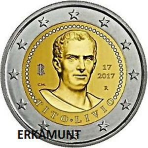 5x2-Euro-Gedenkmunze-Italy-2017-2000-years-death-of-Tito-Livio-VVK