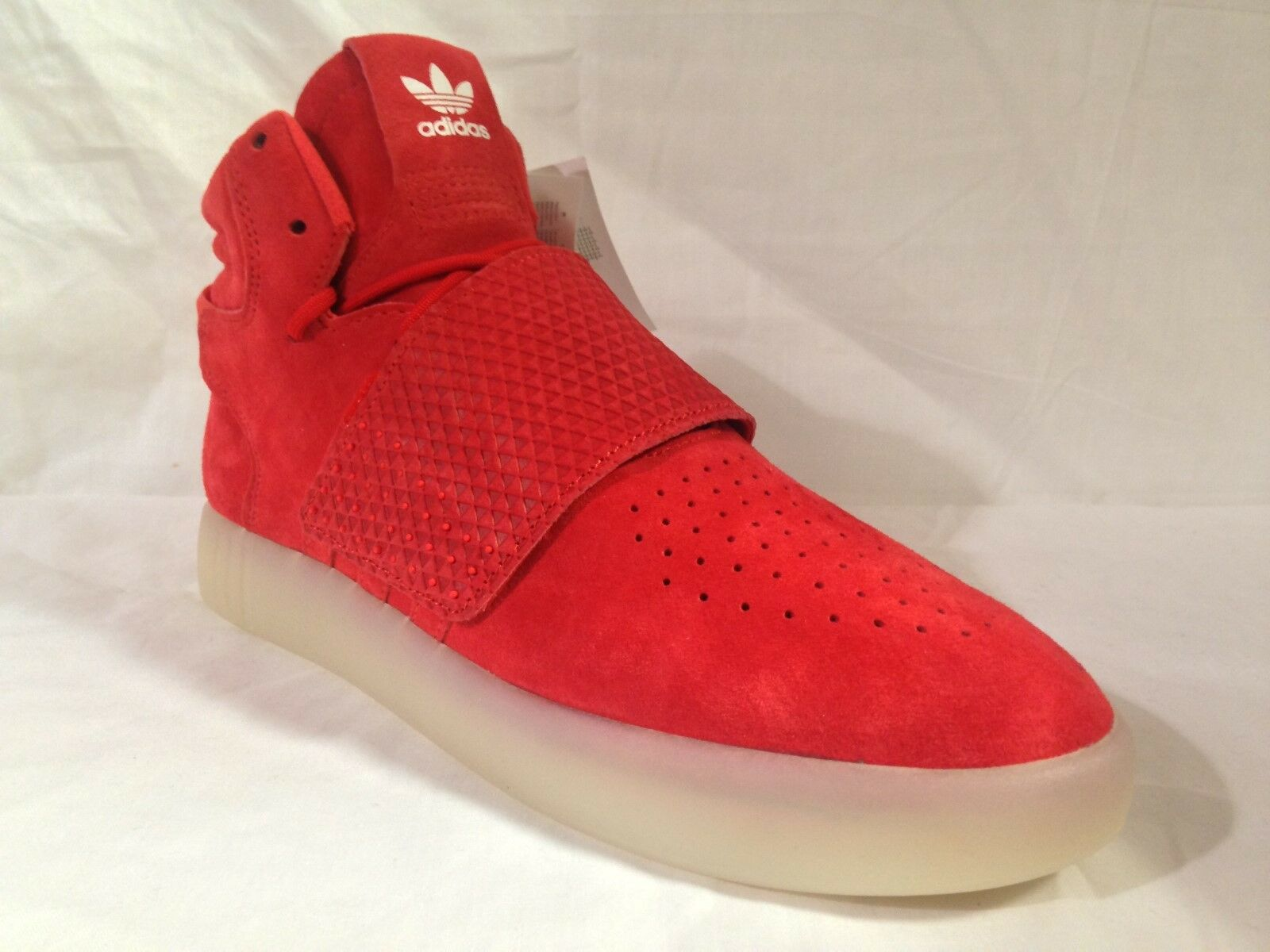 Hommes adidas tubulaire invader sangle sangle sangle rouge/rouge/gomme BB5039 tailles: uk 8.5 _ 9 _ 9.5 f64b76