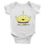 Infant-Baby-Rib-Bodysuit-Jumpsuit-Babysuits-Clothes-Gift-Toy-Story-Alien-Green thumbnail 8