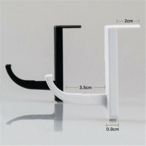 2X Headphone Holder Hanger Wall PC Monitor Stand Durable Headphone Accessory EC