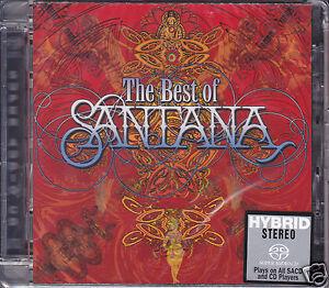 034-Santana-The-Best-Of-034-Sony-DSD-Stereo-Hybrid-SACD-Audiophile-CD-Sealed-Carlos