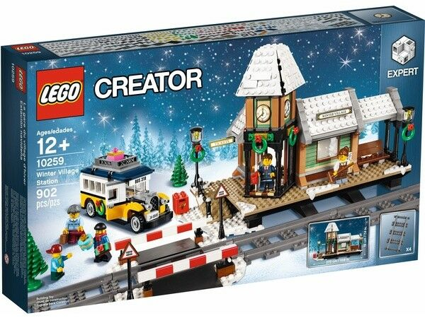 Nuevo Lego Creator estación Aldea De Invierno  10259