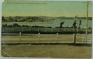 FREMANTLE-VIEWS-OF-THE-SWAN-RIVER-WEST-AUSTRALIA-EARLY-1900-S-POSTCARD