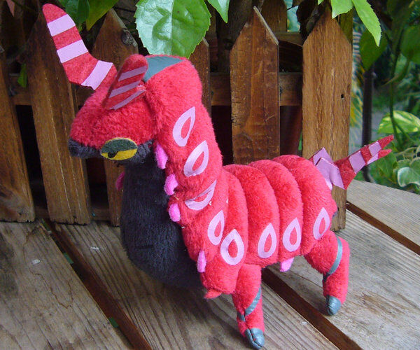 Newest POKEMON #545 Scolipede Plush Doll Toy Figure Collectible Gift For Kids