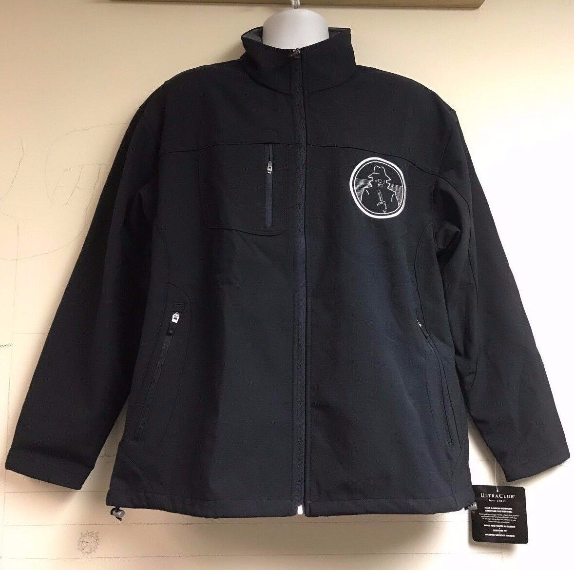 CIA NCS Nat'l Clandestine Srvc Foreign Tradecraft Embroiderot Soft Shell Jacket