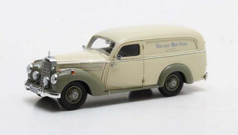 Matrix max11302-201 - mercedes 220 van Autenrieth cream olive  - 1952 1 43  très populaire