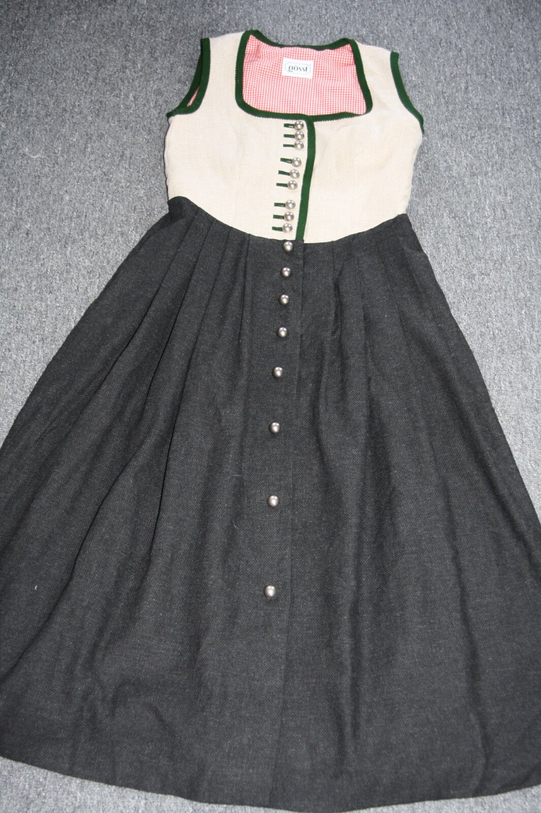 Kl4950  @ bávara @ país casa bávara @ gössl @ lino @ Trachten vestido @ 40  tienda de ventas outlet