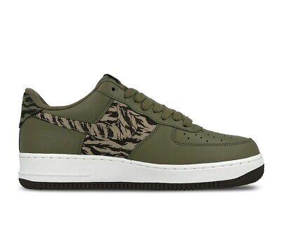 Neuf Hommes Nike Air Force 1 Aop Baskets Premium Vert AQ4131