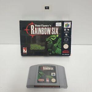 Tom Clancy's Rainbow Six Nintendo 64 N64 PAL Juego en Caja Oz83