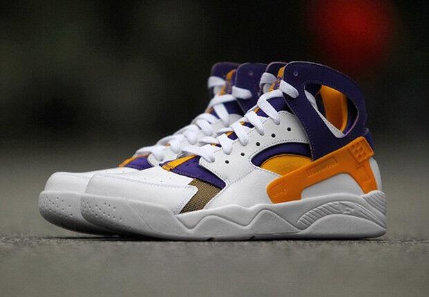 Nike Air Flight Huarache Los Angeles Lakers Kobe Bryant Mamba PE 100% NIB DS