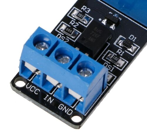Channel Relay 3.3V 1 Low Level Trigger Relay Module with Optocoupler Isolation